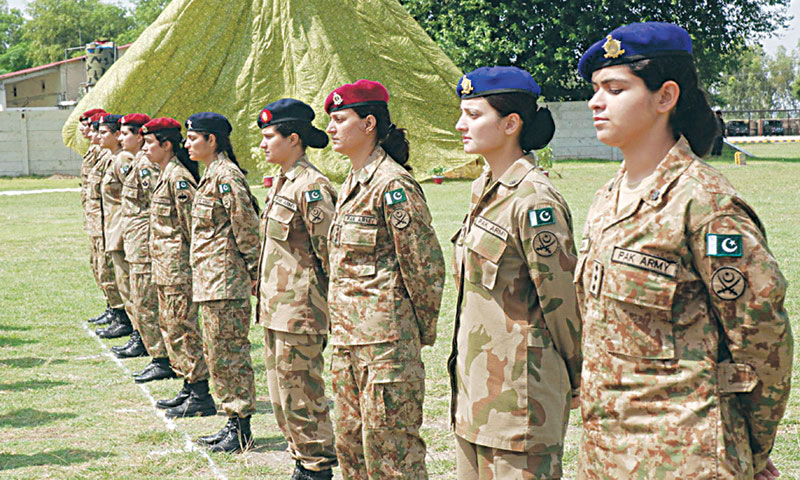 Join Pak Army as a Female Officer Captain Nursing Doctor Psychologist or Solider