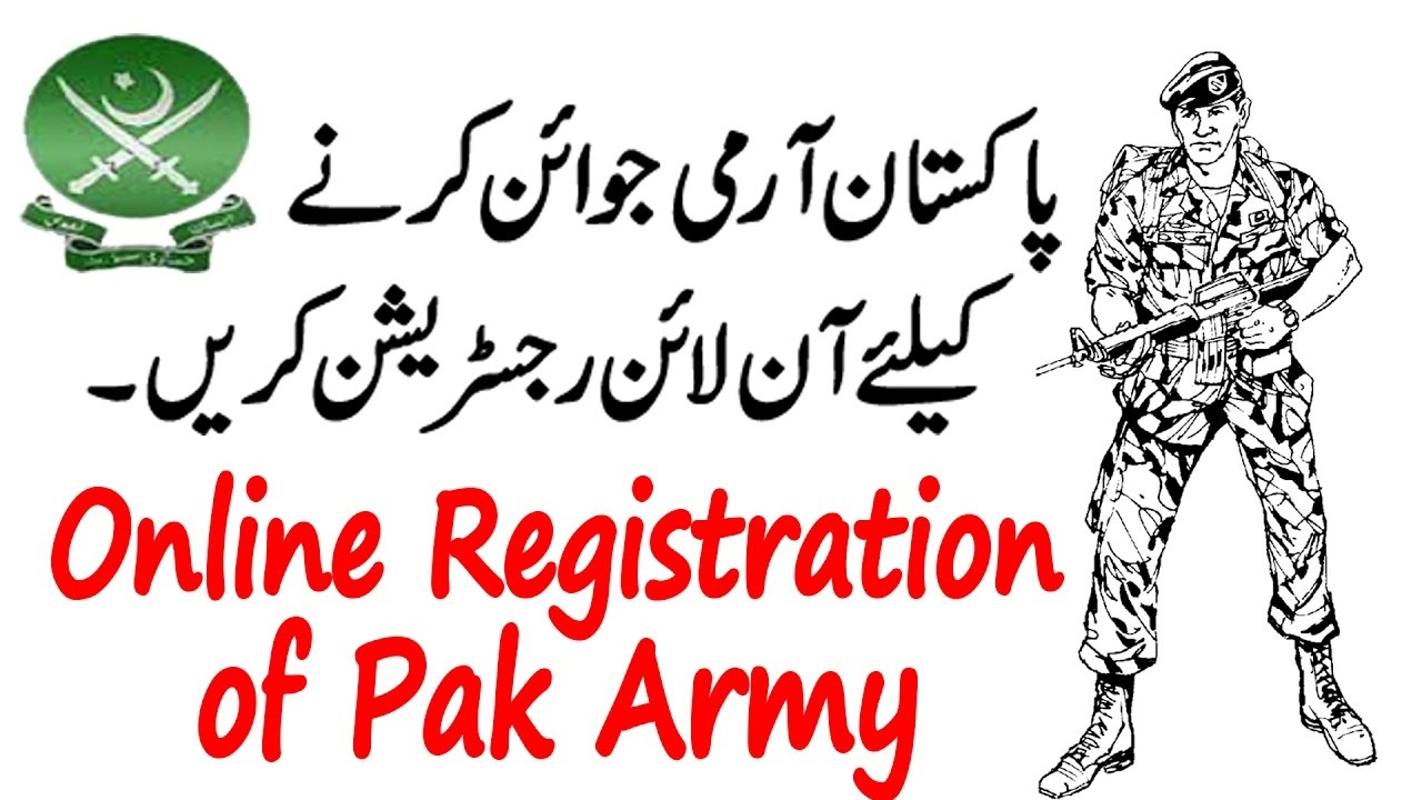 Join Pak Army After Intermediate FA FSC ICS Pre Medical/Engineering for Male/female Registration Online
