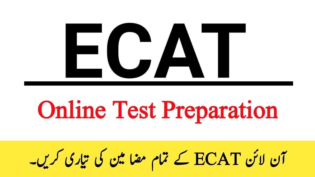 ECAT Physics Test Online Preparation Mcqs