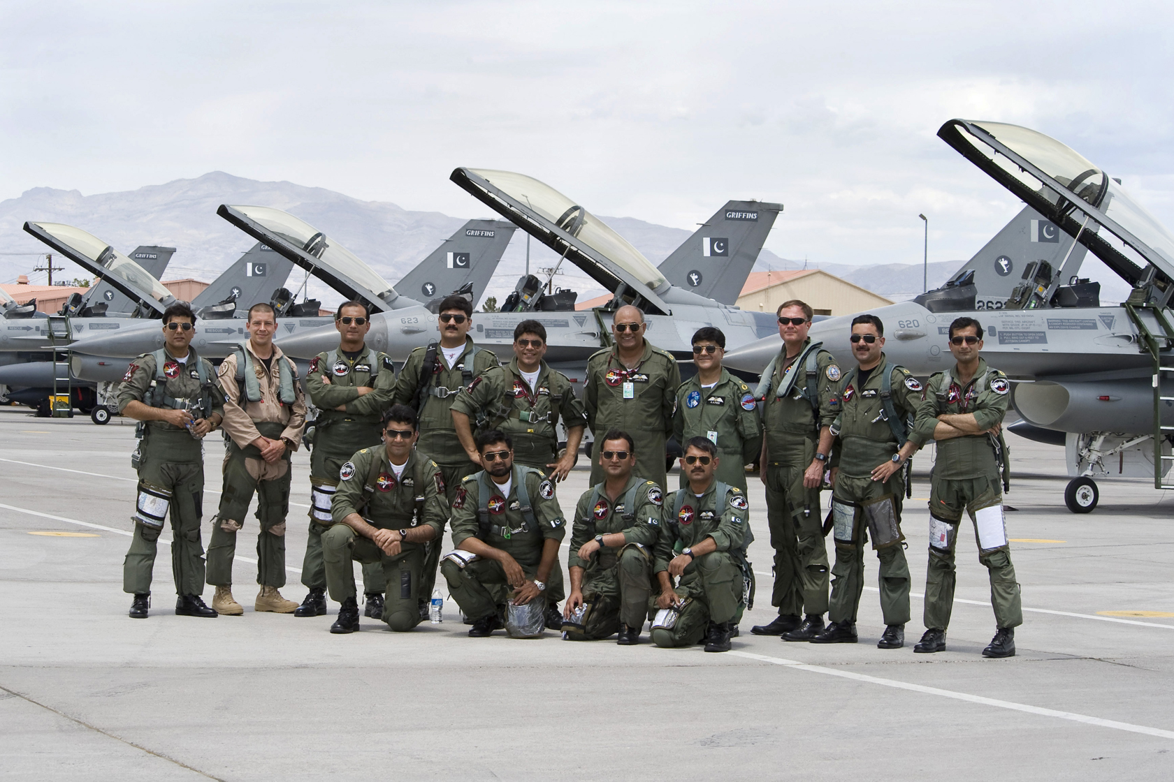 Pakistan Air Force is the aerial warfare branch of the Pakistan Armed Forces, tasked primarily with the aerial defence of Pakistan, with a secondary role of providing air support to the Pakistan Army and the Pakistan Navy