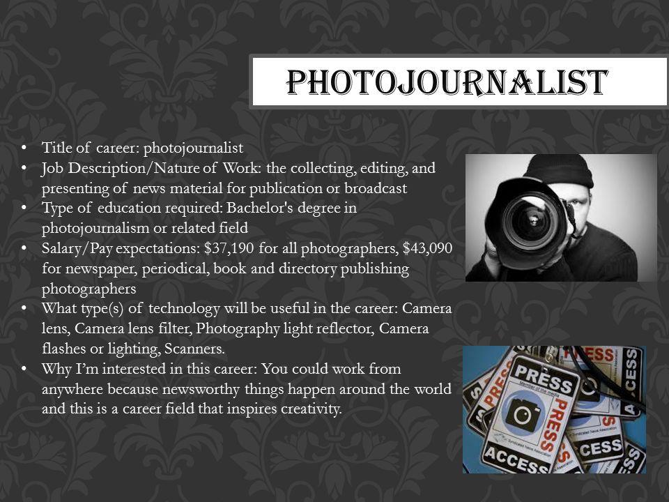 Photo Journalist Career Scope in Pakistan Opportunities Requirements Salary