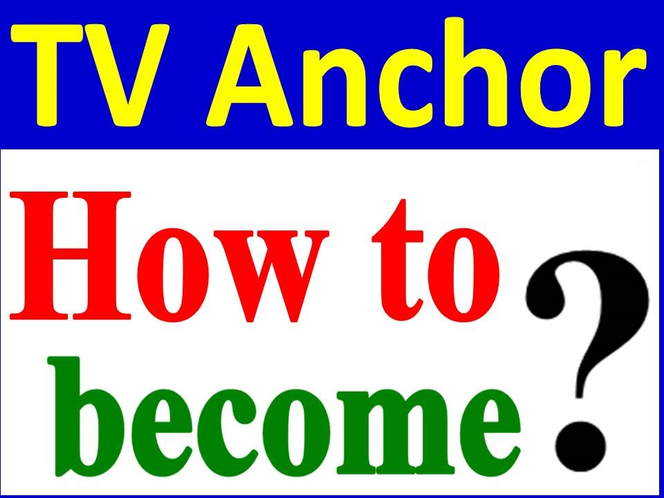 TV Anchor Career Opportunities in Pakistan Scope Jobs Requirements Salary guideline information for courses, professional experience training scheme interneships, admissions, with income details to start career as TV Anchor.