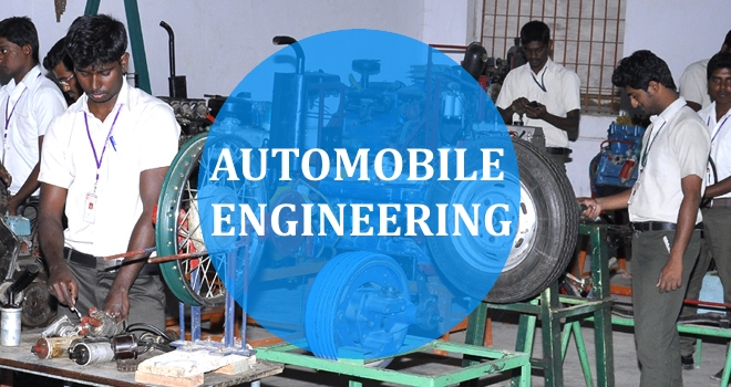 Automobile Engineering is a branch of engineering which deals with designing, manufacturing and operating automobiles. It is a segment of vehicle engineering which deals with motorcycles, buses, trucks, etc. It includes mechanical, electrical, electronic, software and safety elements.