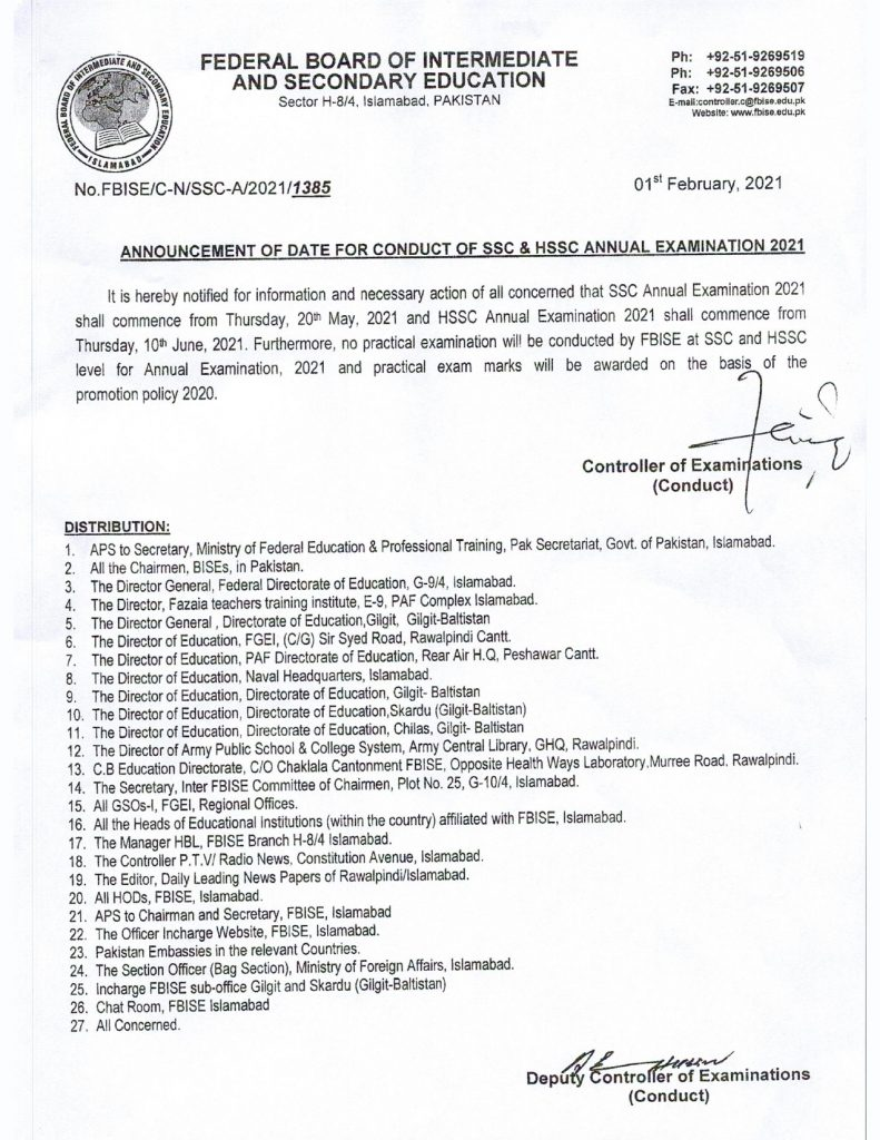 FBISE Date sheet 2021_page-0001