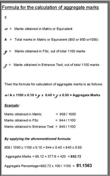 uvas merit formula Agregate